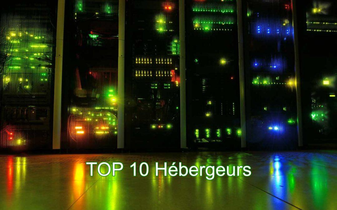 Top 10 Hébergeurs, lequel choisir pour son site internet ?