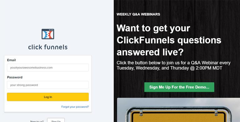 Les concurrents de ClickFunnels