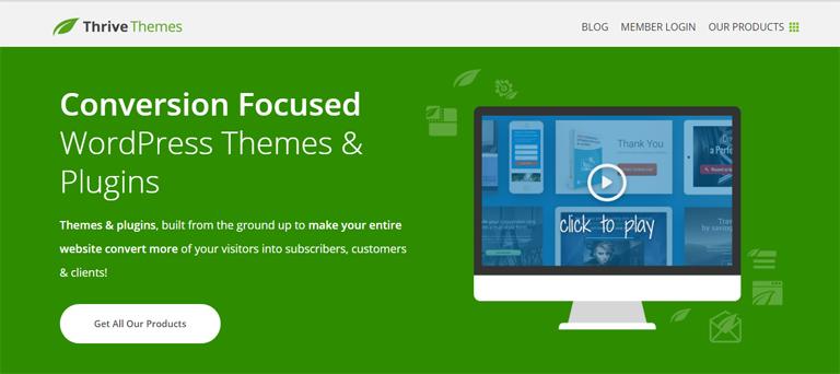 ThriveThemes, un concurrent de ClickFunnel