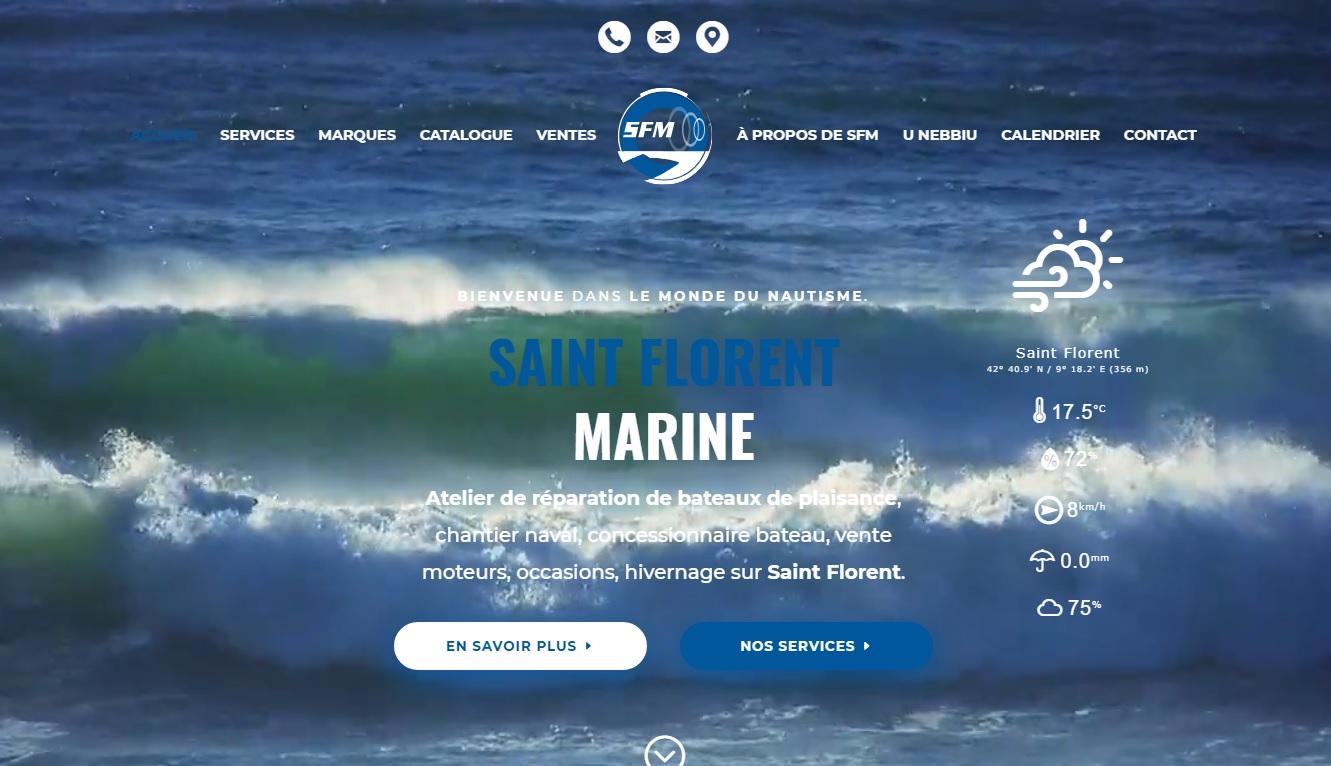 Saint Florent Marine est un atelier nautique de réparation navale situé en Corse à Saint Florent.