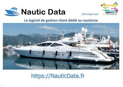 Présentation NauticData Site Web