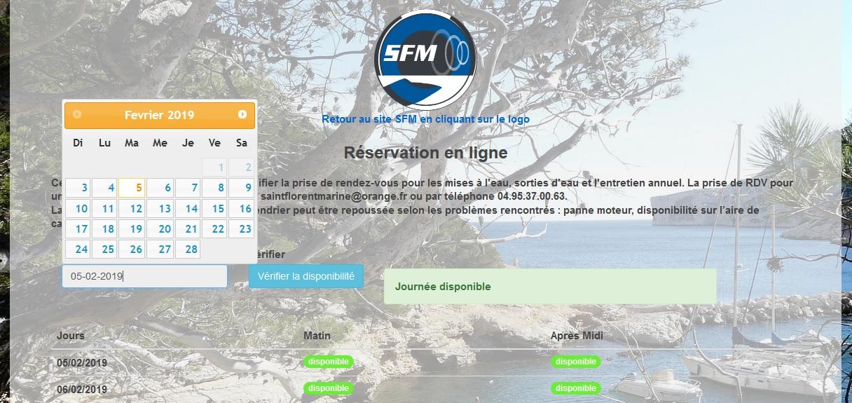 NauticData - Interface d'accueil du logiciel de gestion atelier nautisme