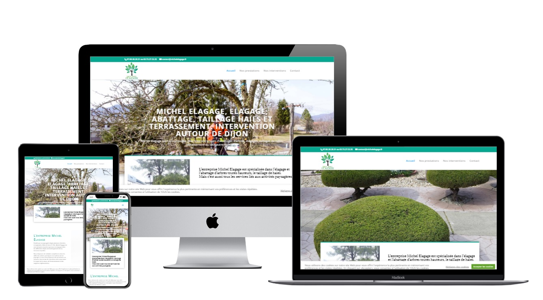 Création site internet artisan élagueur