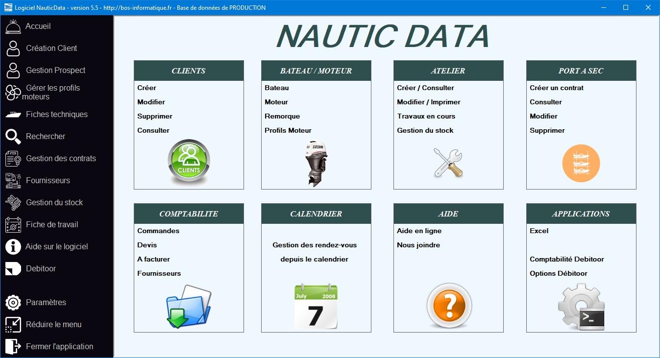 NauticData - Gestion d'atelier nautique